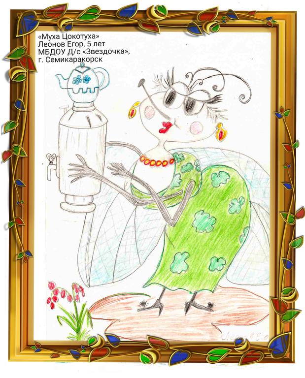 Сказки корнея чуковского и рисунки к ним